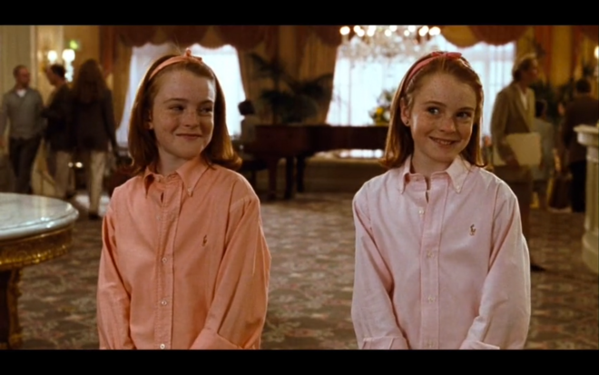parent trap twins